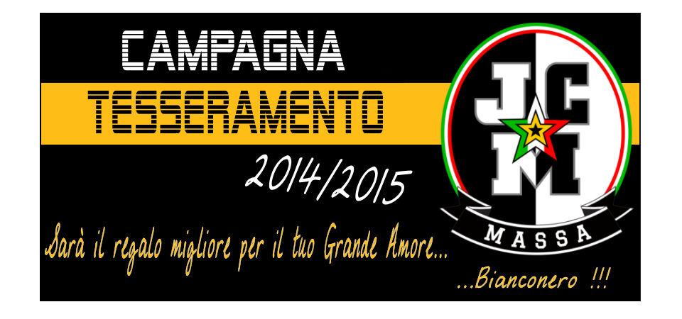 Campagna Tesseramento 2014/2015